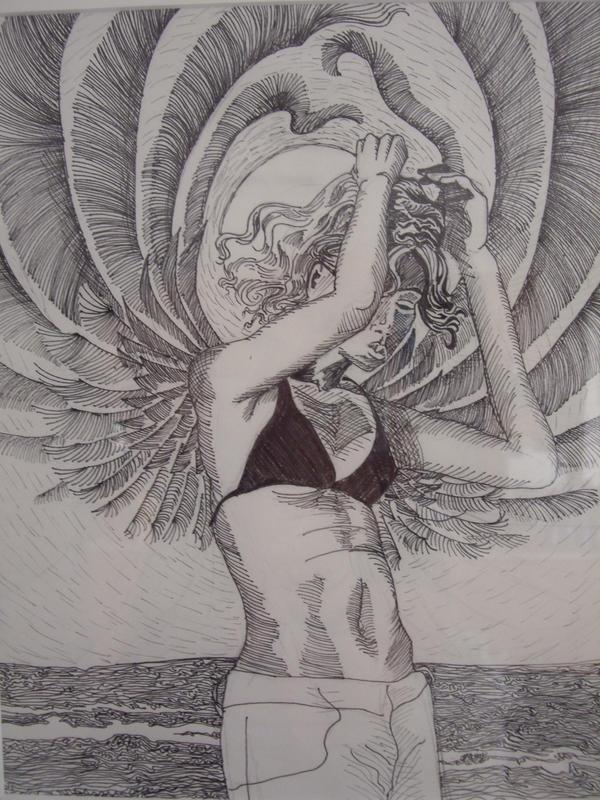 urban beach angel by kalascee