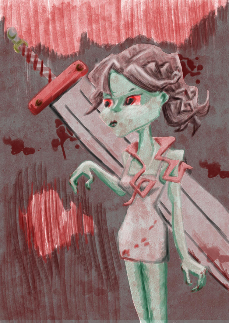 zombie blade by kalascee