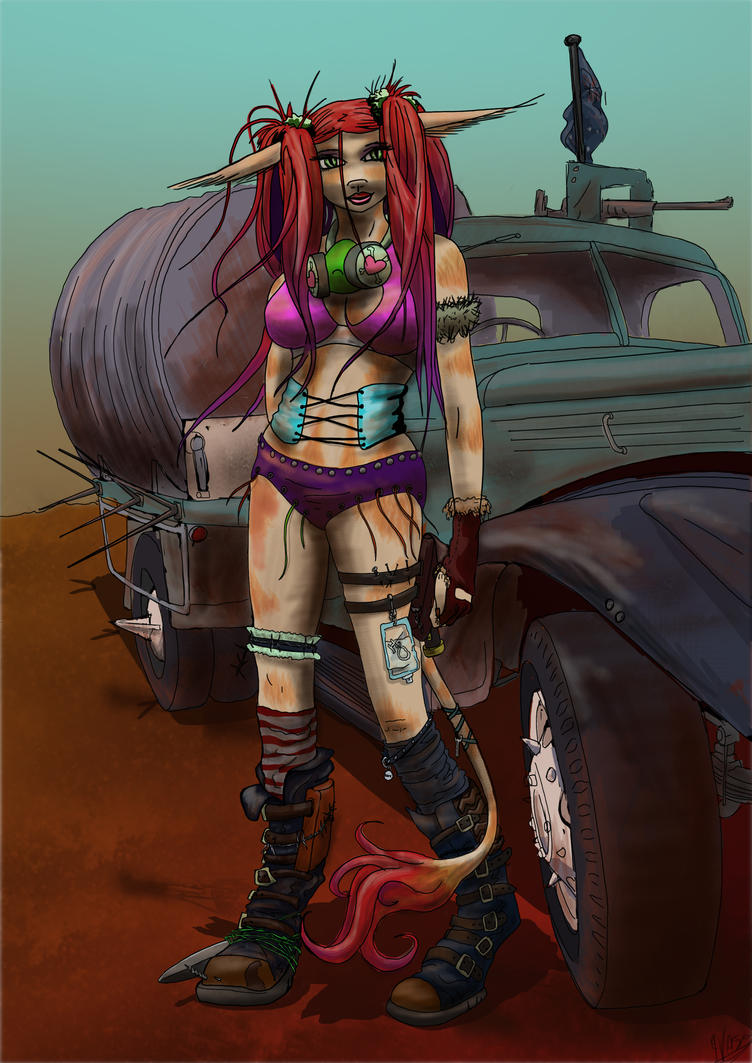 fury road by kalascee