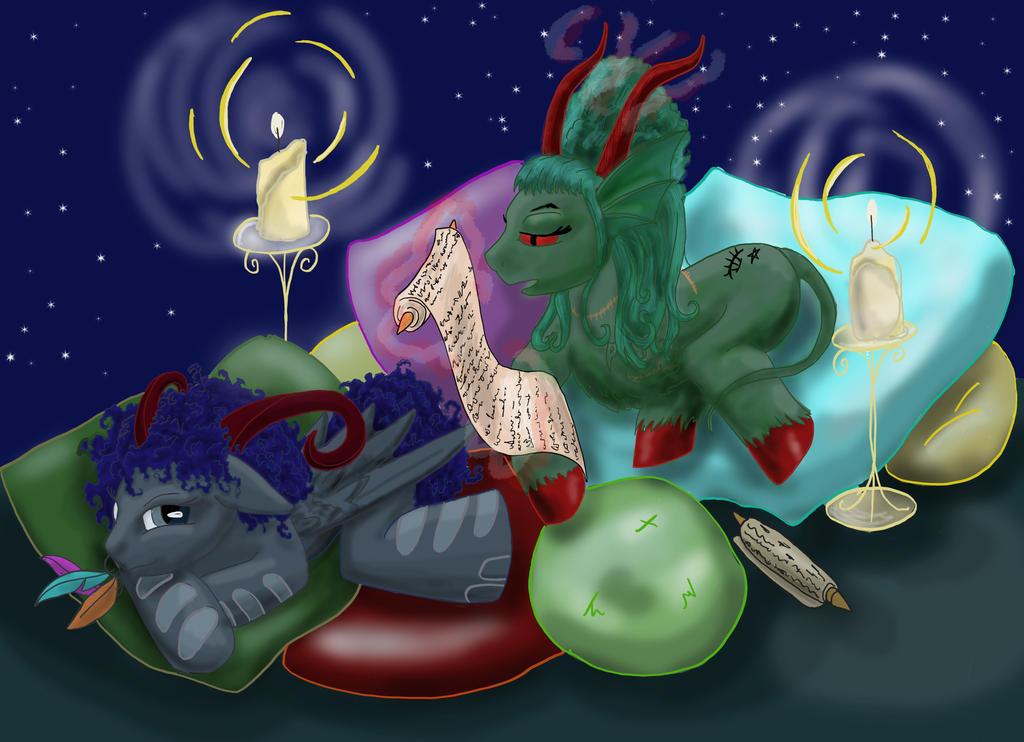 Bedtime Story by kalascee
