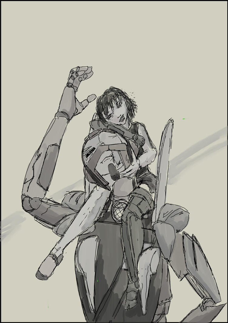 piggyback by kalascee