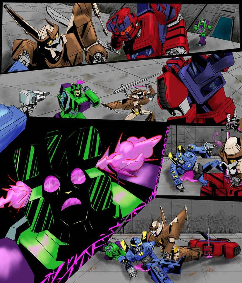 Csirac Issue 4 Page 2   Line Art By Arwingpilot114 by kalascee
