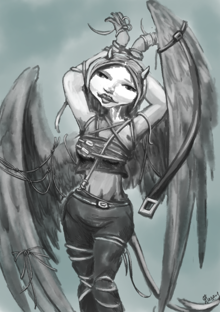 Bound Angel by kalascee