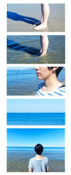 Waves (1/2) - Haruka Nanase by Alison-lynn