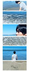 Waves (2/2) - Haruka Nanase by Alison-lynn