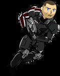Vault boy Shepard