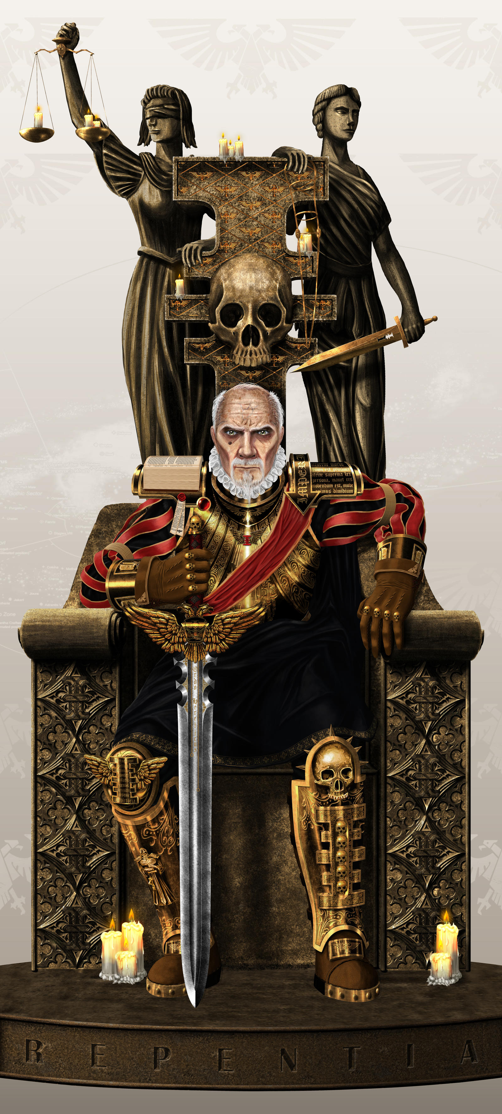 Lord Inquisitor Fyodor Karamazov by forArkan