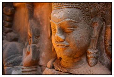 Angkor Engraving I
