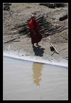 Burmese Buddhist Monk I