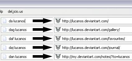DeviantART - Keywords by Lucanos