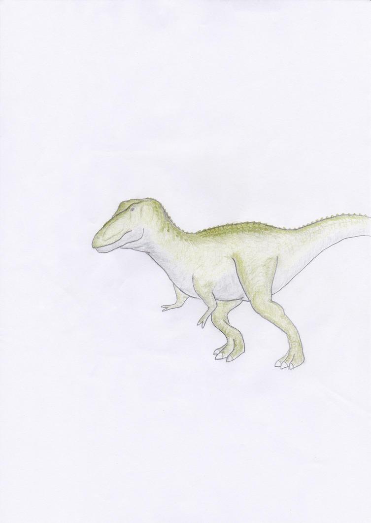 Alectrosaurus by arcupion