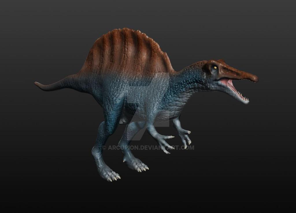 Spinosaurus Model by arcupion on DeviantArt