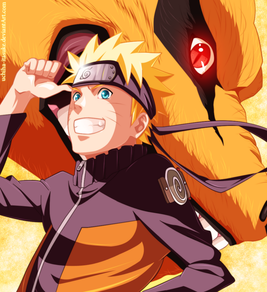 NARUTO And KURAMA By Uchiha-itasuke On DeviantArt