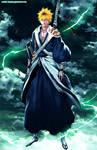 Bleach 582: Kuroraki Ichigo back by Adriano-Arts