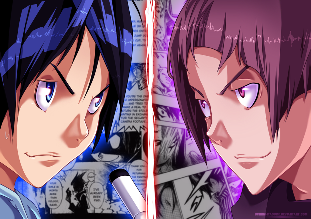 Rivals by uchiha-itasuke