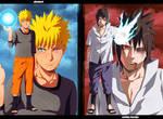 Naruto-vs-Sasuke [Collab] by Adriano-Arts