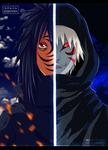 Obito and Kakashi by Adriano-Arts