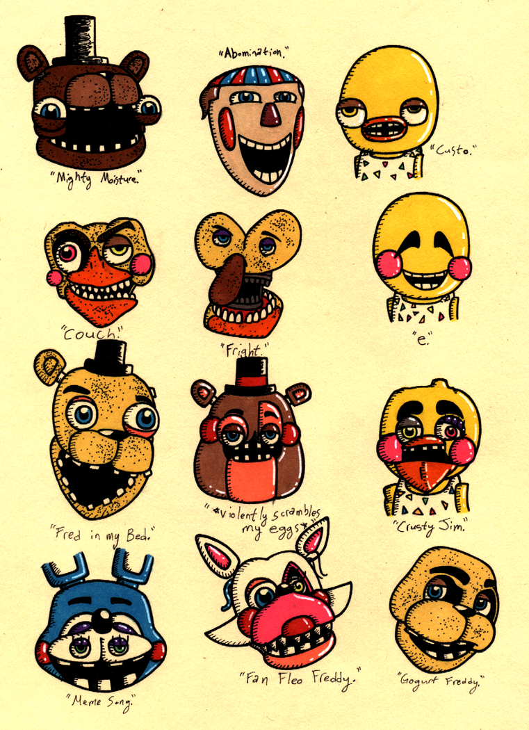 Game Five Nights At Freddys
