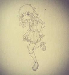 Doll Girl by emoPANDAattack