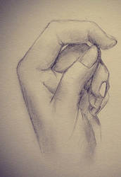 Hand drawing 1 by emoPANDAattack