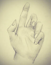Hand drawing 2 by emoPANDAattack