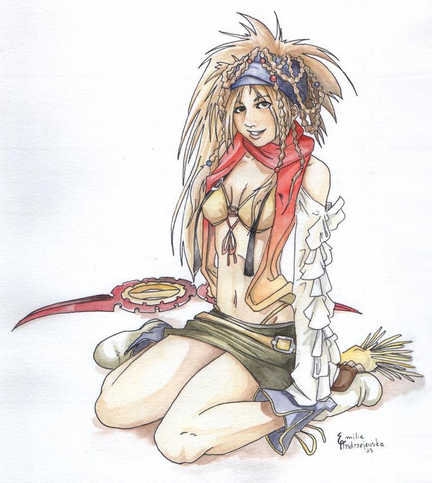 -Rikku -FFX2- by asemo