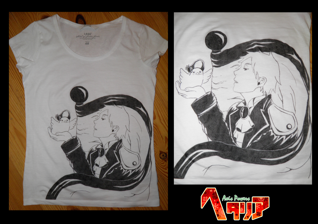 Prussia T-shirt by Aimi-no