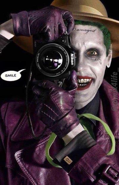 The Killing Joke Jared Leto By Comix4life On Deviantart Joker Batman