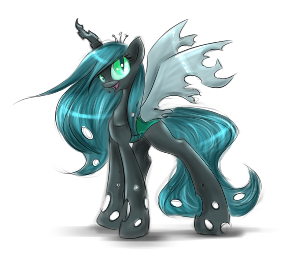 Sketchy Chrysalis by KairaAnix
