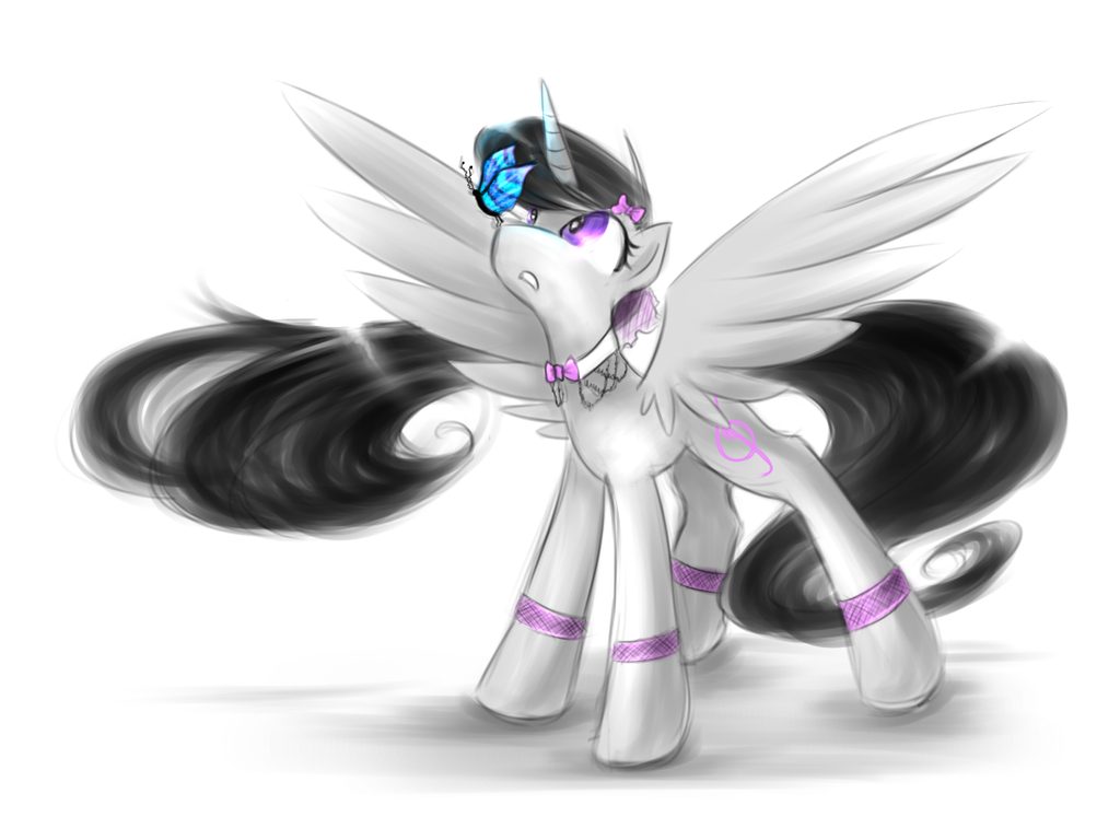 Sketchy Princess Octavia by KairaAnix