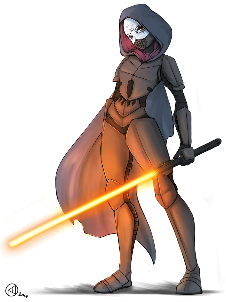 Sith Inquisitor by KairaAnix