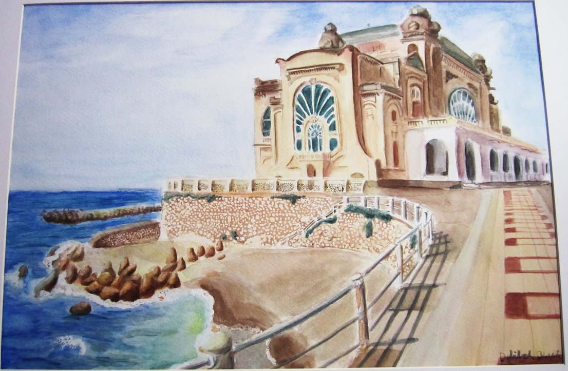 My first watercolor by hacate on deviantart for My first watercolor painting