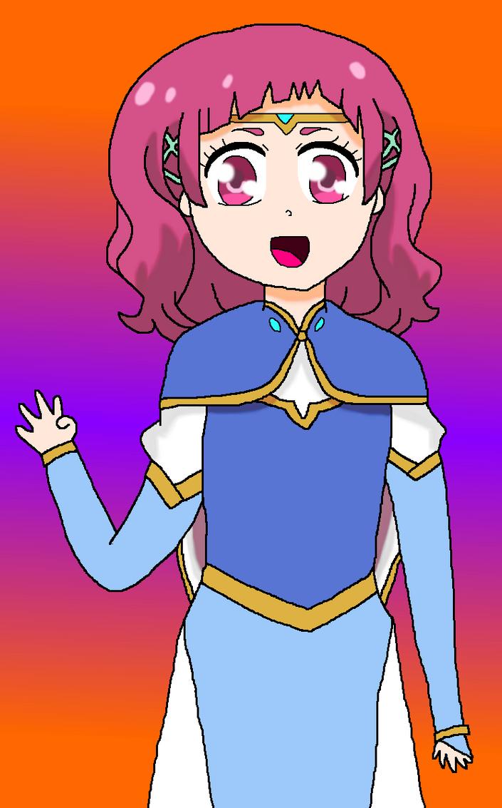 Hana as Allura by StarmyuFanYuta98