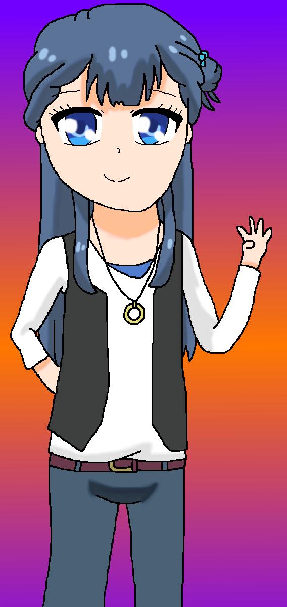 Saaya as Haruto Tsukigami by StarmyuFanYuta98