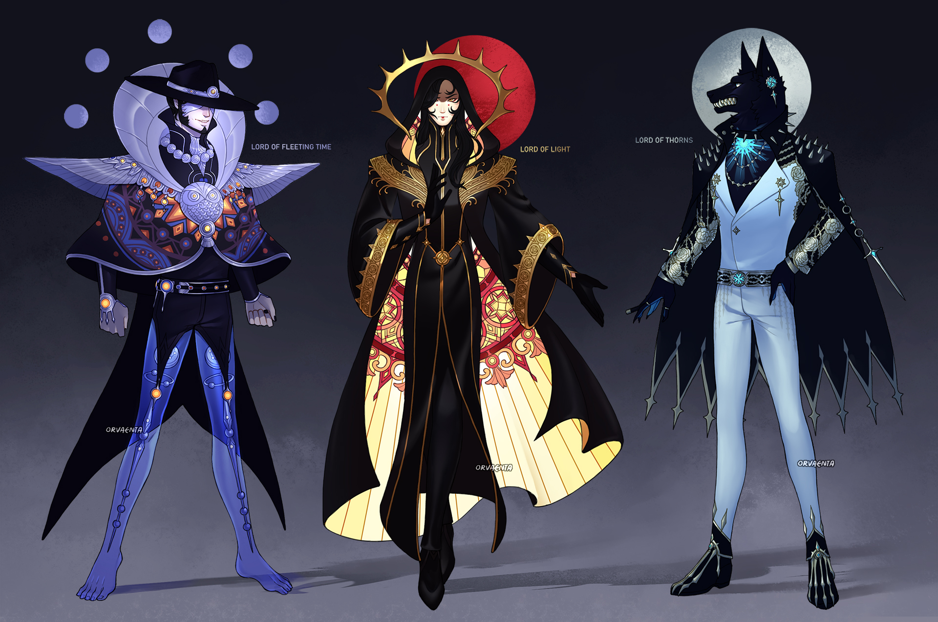 Three Lords Auction [CLOSED]