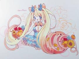 Aninktober Day 19: Cornucopia by ShiiroHana