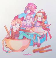 Aninktober Day 23: Cinnamon by ShiiroHana