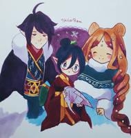 Aninktober Day 21: Family by ShiiroHana