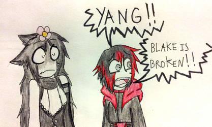 RWBY: Faunus vs Flower by AutisticWerewolf