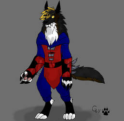 Grimm Concept with Uniform by AutisticWerewolf