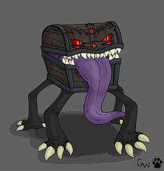 DnD Monsters:Mimic