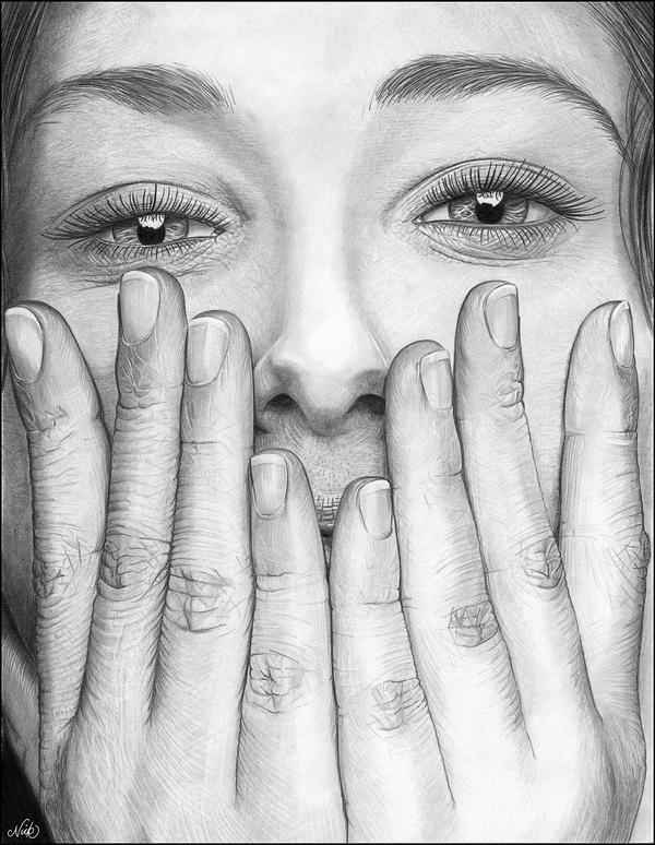 Hidden Smile by NicksPencil