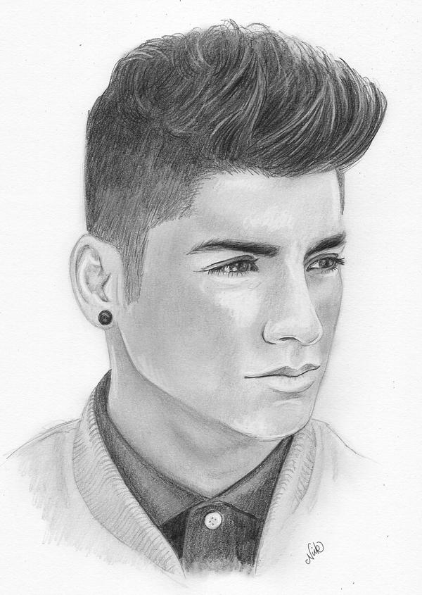 Zayn malik sketch by nickspencil