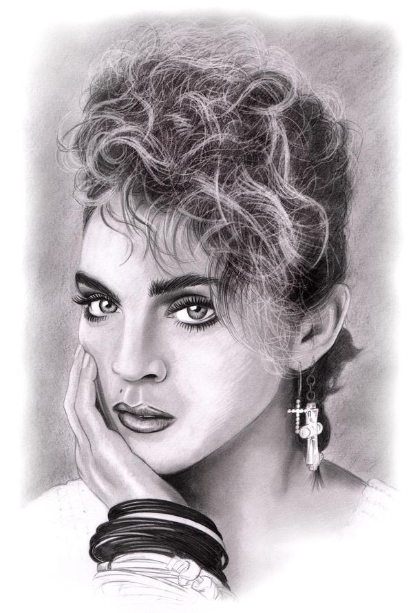 Madonna Sketch by NicksPencil