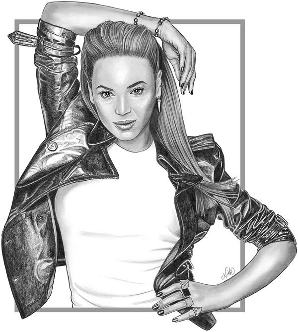 Beyonce by NicksPencil