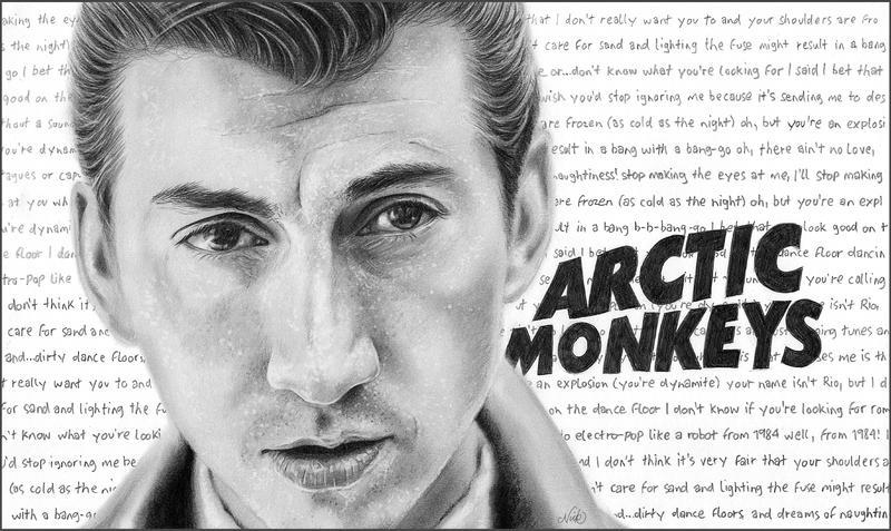 Alex Turner - Arctic Monkeys by NicksPencil
