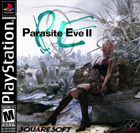 Parasite Eve 2 >> Parasite Eve 2 Custom Cover Ps1 By Diegoshark On Deviantart