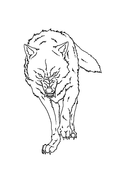 How To Draw An Anime Wolf By Darkonator Drawinghub