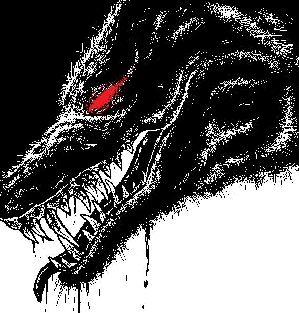 Demon Wolf by WhiteWolfCrisis13 on DeviantArt - photo#30