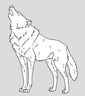Howling Wolf by WhiteWolfCrisis13
